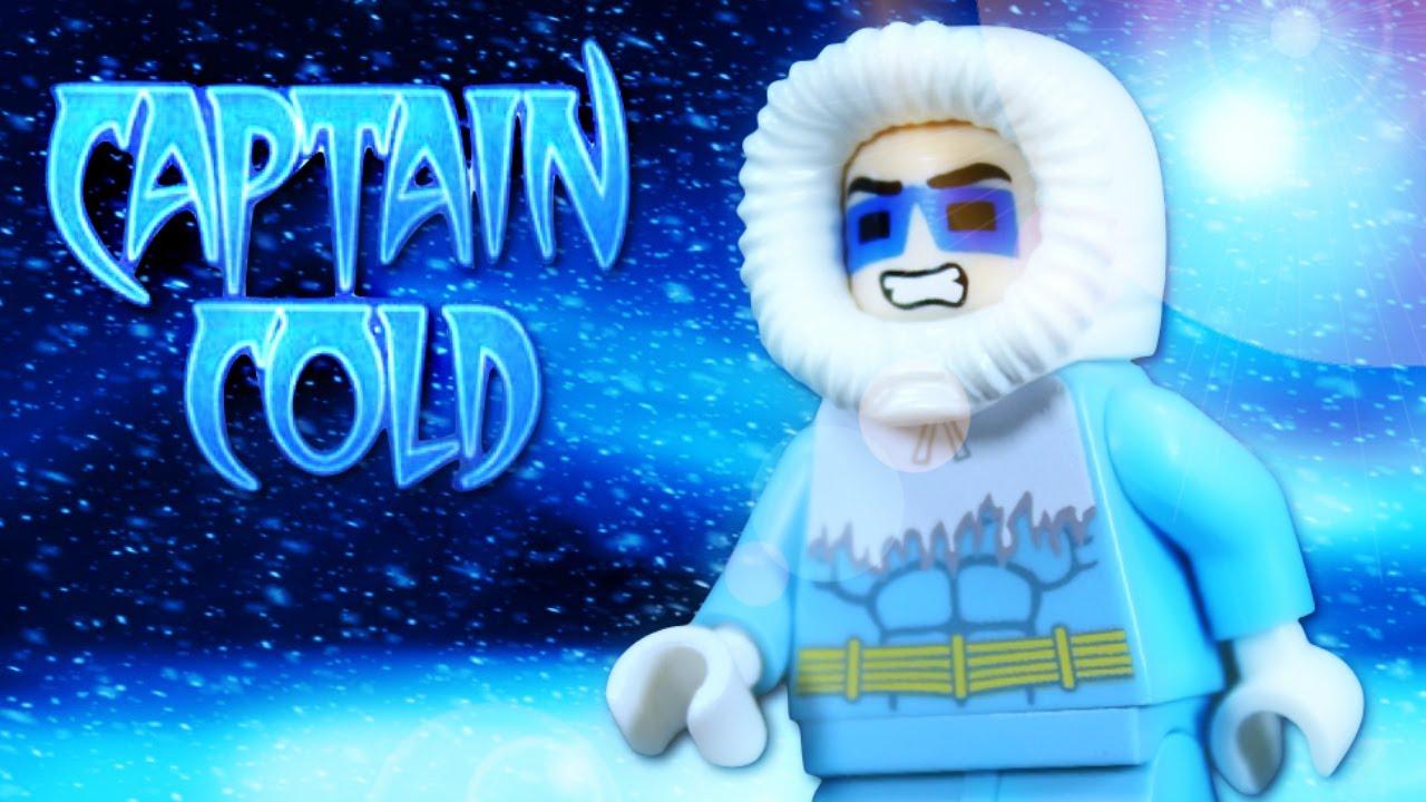 Lego Batman 2 Dc Super Heroes Custom Captain Cold Minifigure Review Youtube