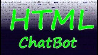 HTML & JS kolay ChatBot