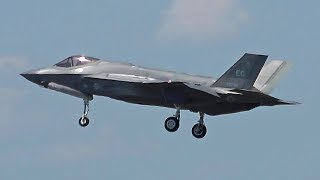 Download Video F-35s, F-15E, F-16s arriving, Westover Airshow 2018 MP3 3GP MP4