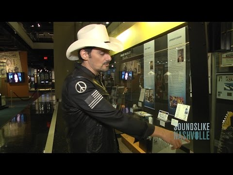 Brad Paisley Re-Lives the Past with New Exhibit at Country Music Hall of Fame & Museum