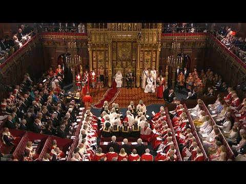 Watch Again: The Queen's Speech And State Opening Of Parliament