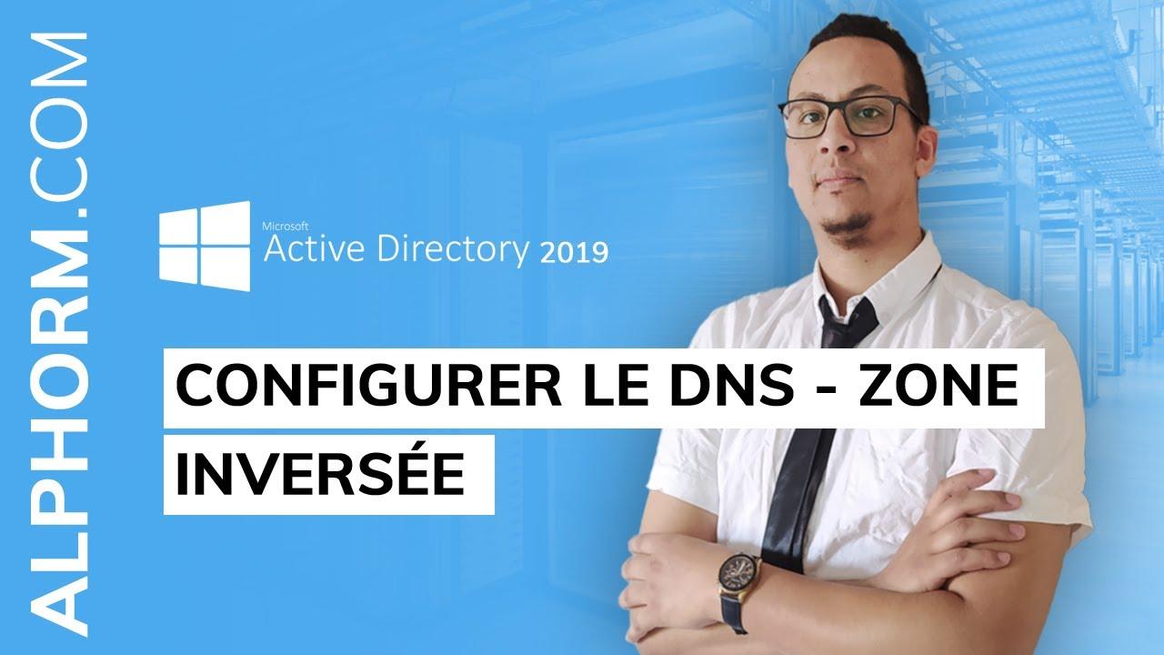 Configurer une Zone inversée sous Active Directory