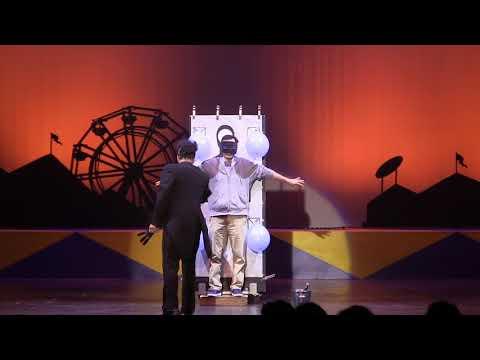 FULL Ed Alonzo's Psycho Circus Magic Mayhem California's Great America Halloween Haunt 2017