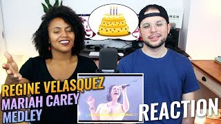 Regine Velasquez - Mariah Carey Medley | Reflections Concert Series | REACTION