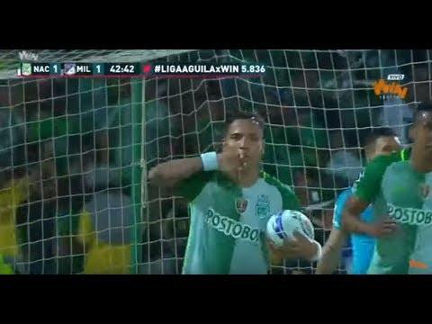 Atlético Nacional 3 - 2 Millonarios. Fecha 11 Liga Aguila 2017 II | Win Sports