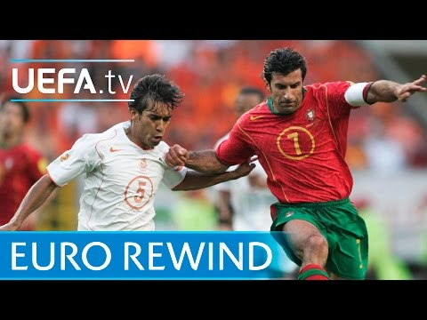 EURO 2004 highlights: Portugal 21 Netherlands