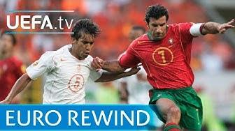 EURO 2004 highlights: Portugal 2-1 Netherlands