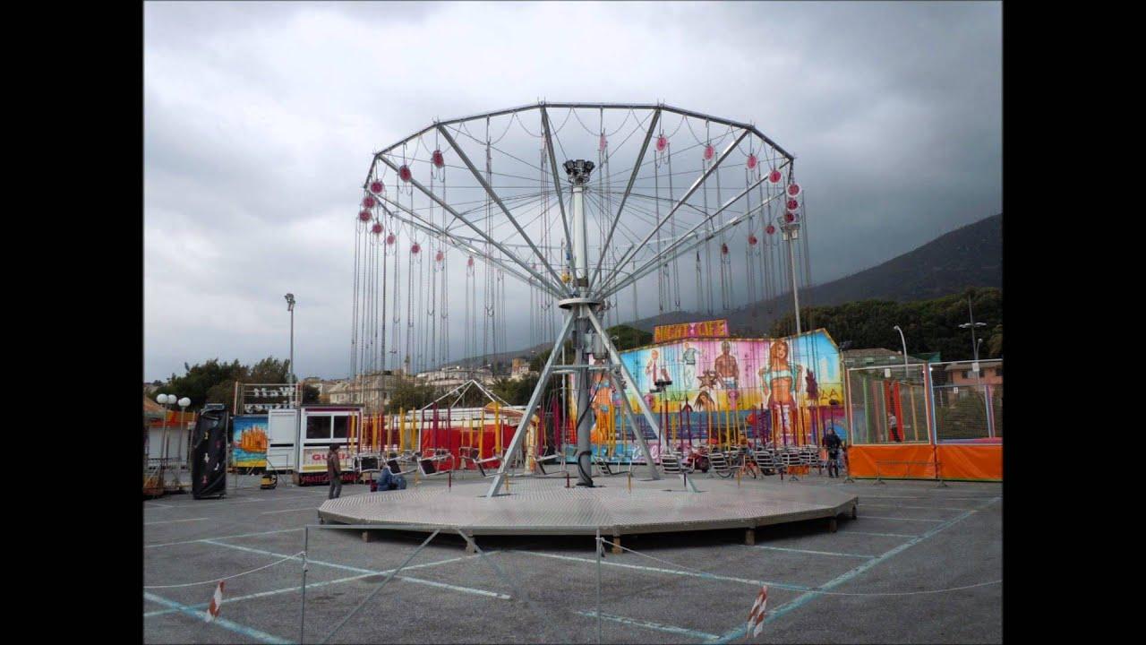Luna park arenzano 2011 youtube for Giostra a catene