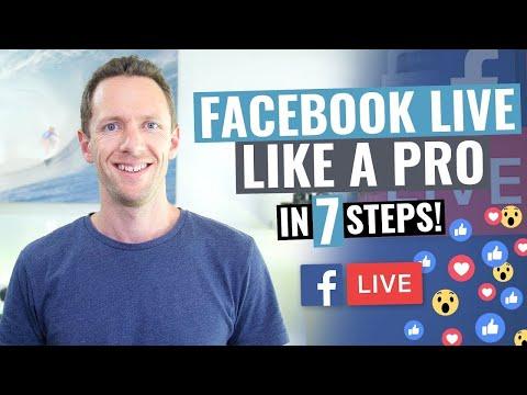 7 Facebook Live Tips For PRO Facebook Live Streams!