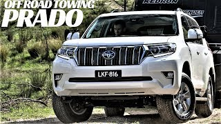 2019 TOYOTA LAND CRUISER PRADO TOWING OFF ROAD + FEATURES OVERVIEW !