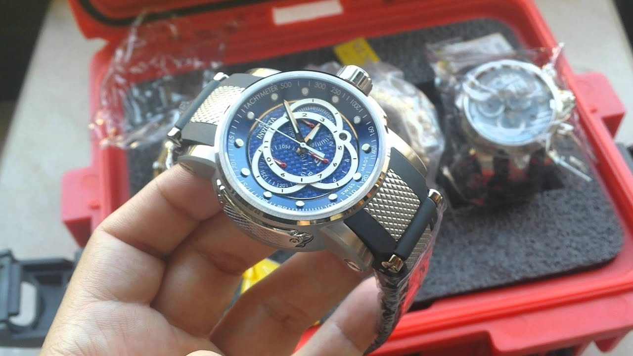 f1c870ce9d5 Relógio Original Invicta Ref 0894 S1 rally Suiço Aço Inox - YouTube
