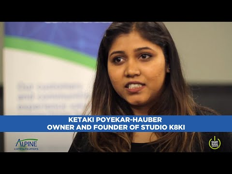 Ketaki Poyekar-Hauber, Owner and Founder of Studio K8Ki in Elkader, Iowa