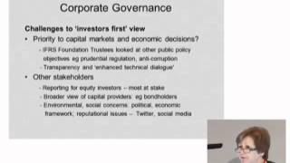Jane Fuller, FM 5th Annual Conf.- Corporate governance in the financial services sector (1/3)