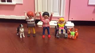 GREICE CAMMINA 😍😱||famiglia Playmobil
