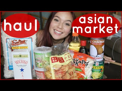 Asian Market Haul // VEGAN