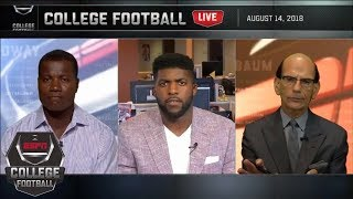 Reacting to Maryland's 'stunning' Jordan McNair press conference | College Football Live | ESPN