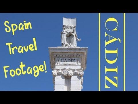 Cádiz, Spain Travel Footage
