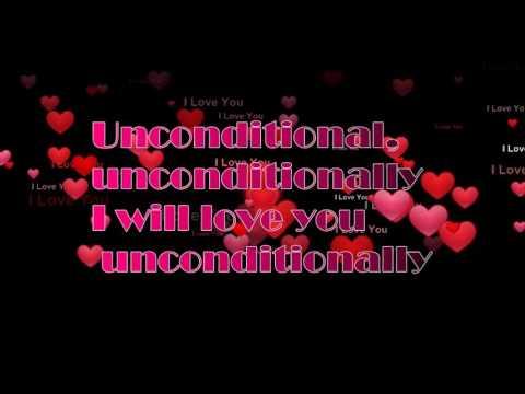 Lirik lagu Katy Perry  Unconditional