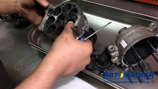 Перевірка БО компресора кондиціонера BMW перед установкою.