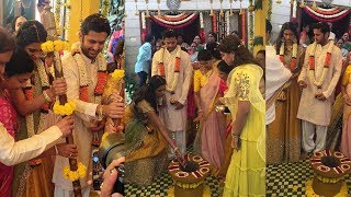 Hero Nithin marriage exclusive video | Nithin Marriage Photos | Hero Nithin Marriage Shalini |FL