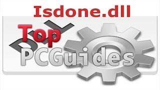 How to fix ISDone.dll Error