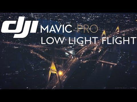 DJI Mavic PRO : Low Light Flight - To Metropolis