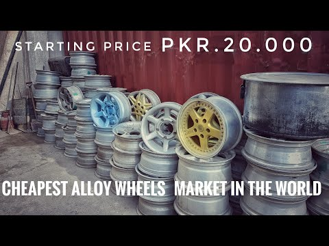 Imported Alloy Wheels Cheap Price Japani Rims