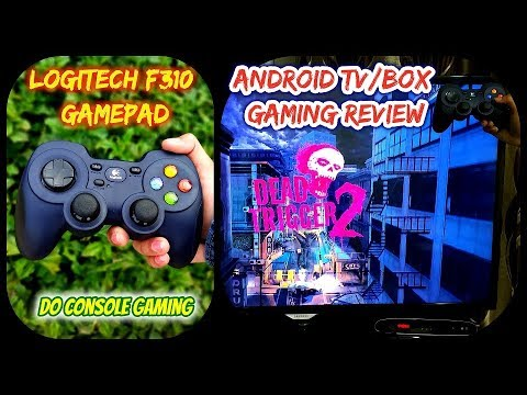 Logitech F310 Gamepad for Android TV / box Console Gaming review