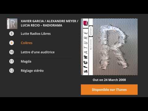 Xavier Garcia / Alexandre Meyer / Lucia Recio - Radiorama