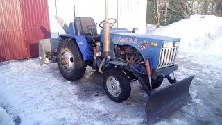 Самодельный минитрактор / Homemade tractor