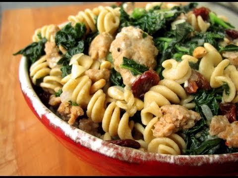 Clean Eating Winter Pasta with Kale Recipe