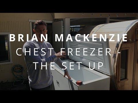 Chest Freezer - The Set Up | Brian Mackenzie (Cold Exposure)