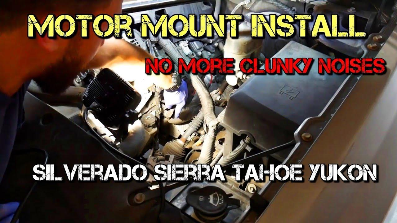 Chevrolet Silverado Motor Mount Replacement Sierra Tahoe Suburban Escalade  ls