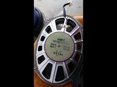 Hyundai Tiburon, Rear Speaker Replace