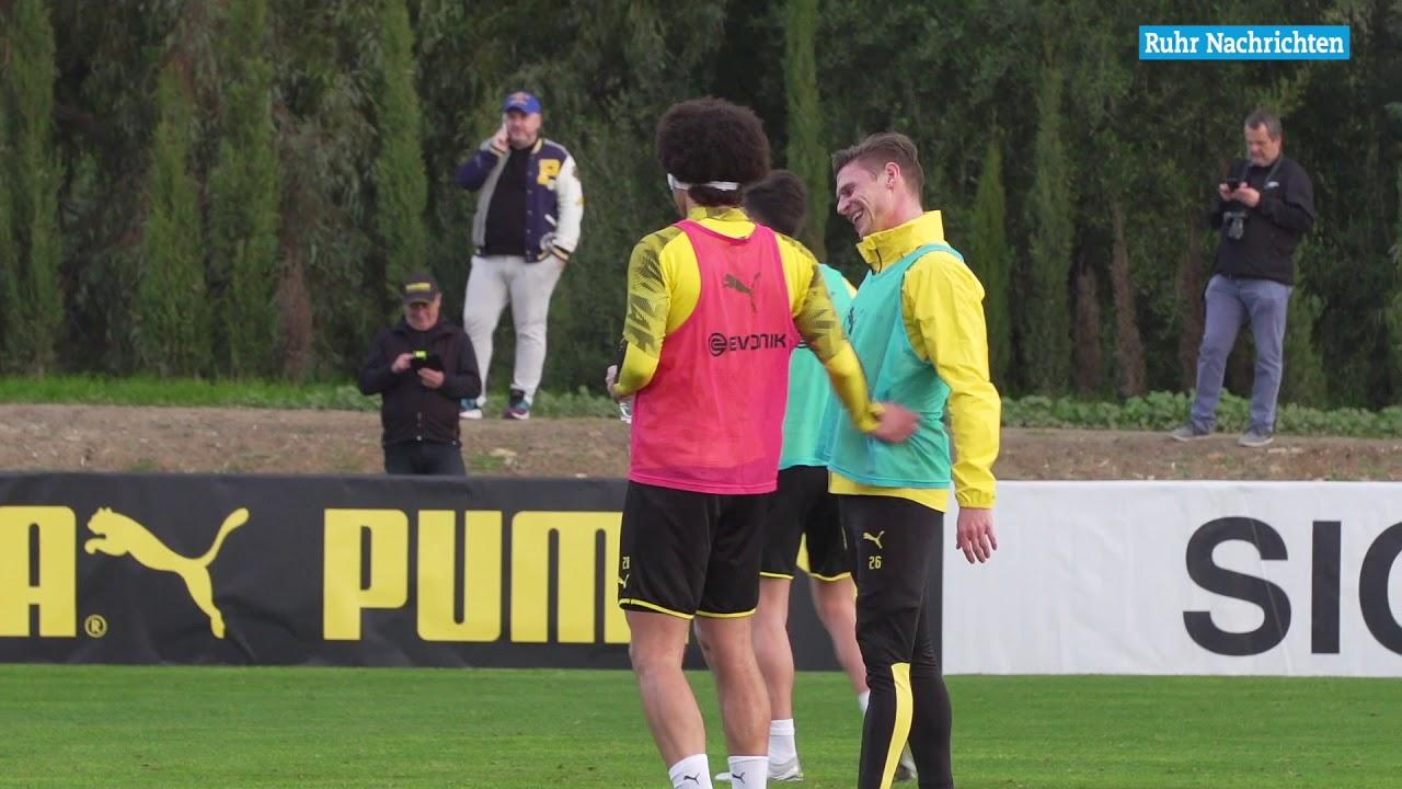 Das erste Training des BVB in Marbella