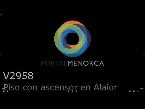 Piso con ascensor en la nueva zona de Alaior, Menorca