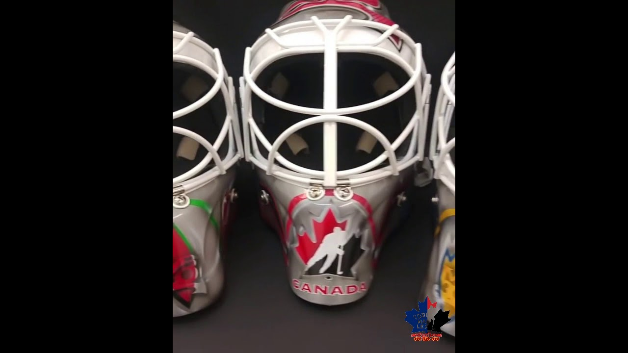 Martin Brodeur Hockey Hall Of Fame Goalie Masks And Autograph