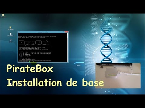 PirateBox - Installation de base