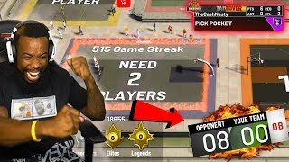 BIGGEST COMEBACK ON A HUGE PARK STREAK w/ MAXED BADGE LOCKDOWN! NBA 2K20