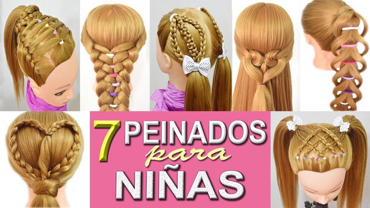 7 peinados faciles para ni as con trenzas para la escuela - Peinados fiesta faciles ...