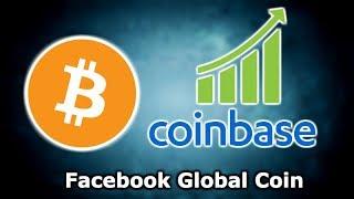 BITCOIN COINBASE TRADE VOLUME SURGES! - REPUBLIC OF SAN MARINO CRYPTO - FACEBOOK GLOBAL COIN