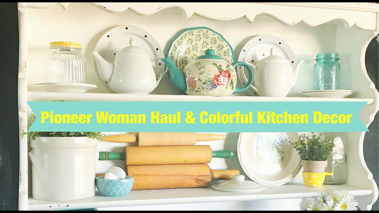 pioneer woman haul plus colorful kitchen decor youtube pioneer woman kitchen decor Pioneer Woman Kitchen Products