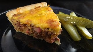Bacon Cheeseburger Pie- With Yoyomax12