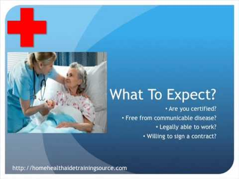 Home Health Aide Interview Expectations and Tips