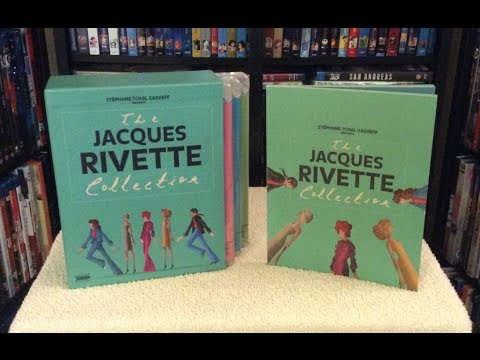 The Jacques Rivette Collection BLU RAY UNBOXING and   Arrow Academy