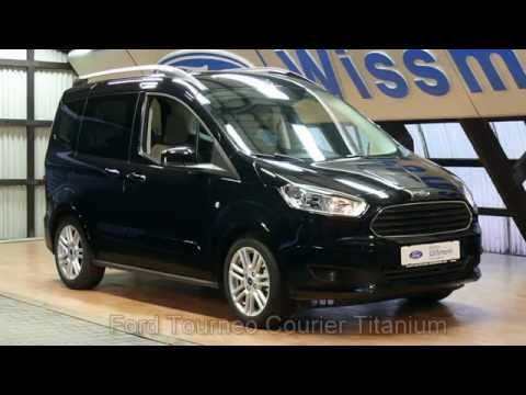 ford tourneo courier 1 0 ecoboost titanium taclea33971 autohaus wissmann youtube. Black Bedroom Furniture Sets. Home Design Ideas