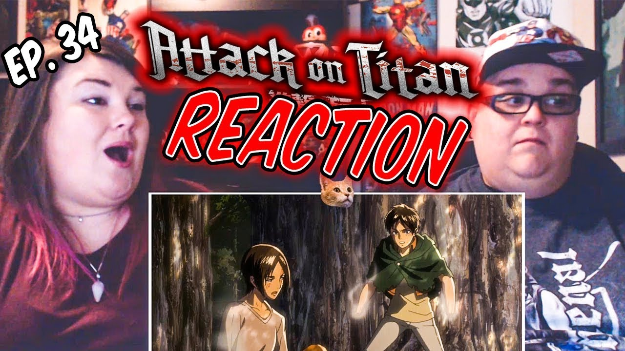 """Download Attack on Titan Episode 34 (2x9) """"Opening"""" REACTION!!"""