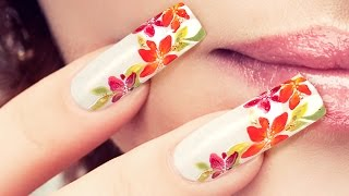 Floral Nail Art . The Power of Flower . Nails 21