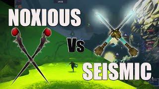 NOXIOUS STAFF Vs SEISMIC (RuneScape)