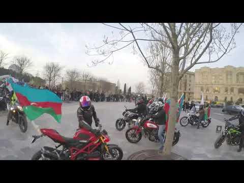 Azerbaijan Election Day Rally 2018